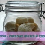 Kokosowo - kakaowe muszelki kąpielowe