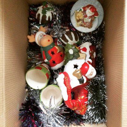Święta do pudła i na szafę